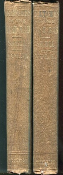Sketches of the Irish Bar, With Memoir And Notes By R. Shelton Mackenzie; In Two Volumes. Richard Lalor Sheil.