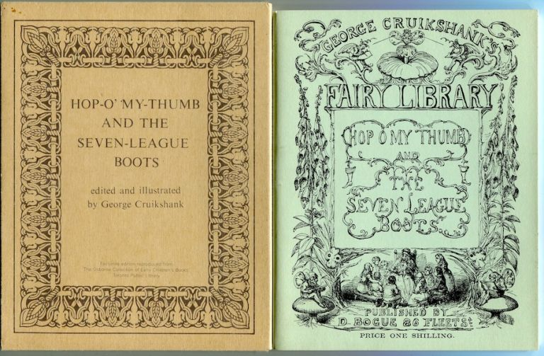Hop-O' My Thumb and the Seven League Boots. George Cruikshank.