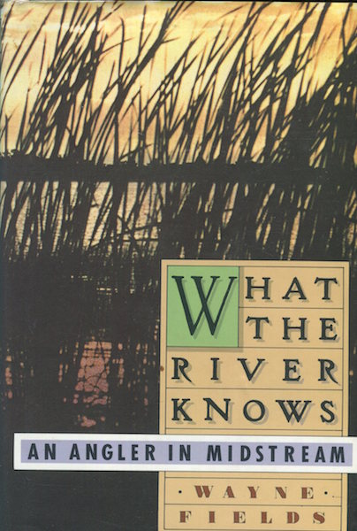 What The River Knows. An Angler In Midstream. Wayne Fields.