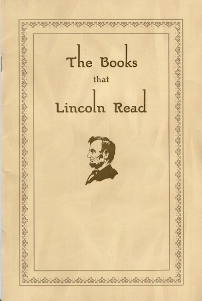 The Books That Lincoln Read. M. L. Houser.