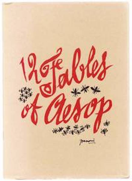 12 Fables Of Aesop. newly, Glenway Westcott.