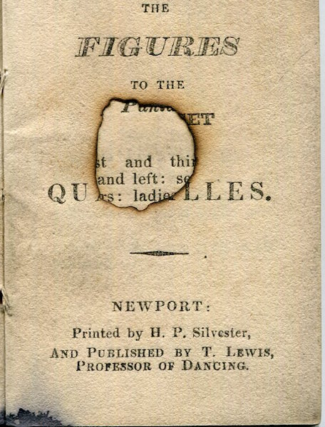 The Figures To The First Set Of Quadrilles. T. Lewis.