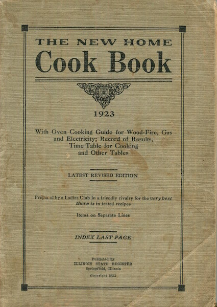 (Cookery) The New Home Cook Book.