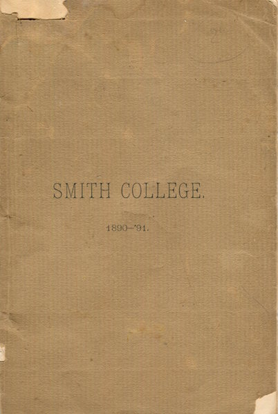 (Education) Smith College 1890-1891