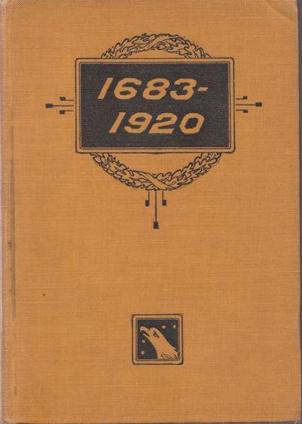 """1683-1920"""" the Fourteen Points and What Became of Them...Foreign Propaganda in the Public Schools...Rewriting the History of the United States...The of 1683 and a Thousand Other Topics. Schrader Frederick Franklin."""