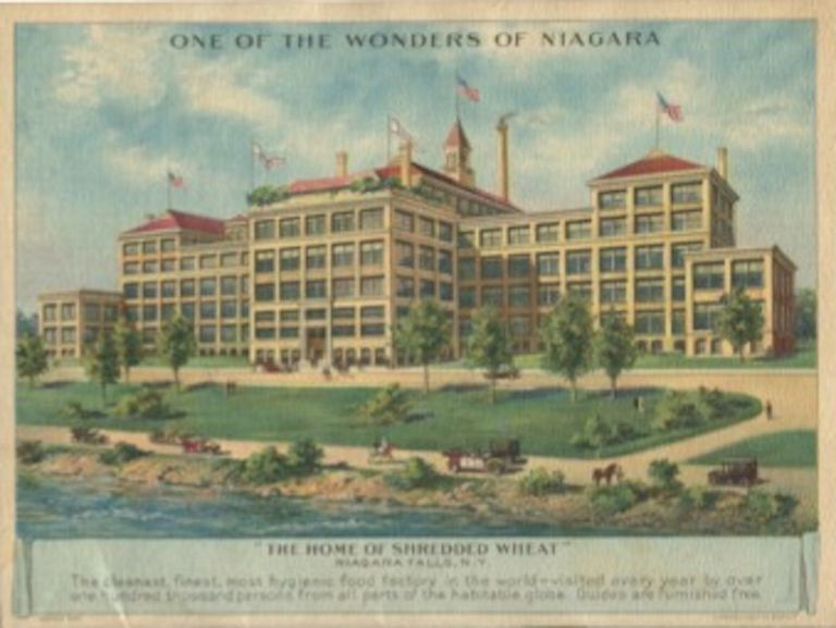 The Wonders of Niagara: A visit to America's greatest cataract with a description of the points of interest in a region of scenic grandeur and beauty. The Shredded Wheat Company.