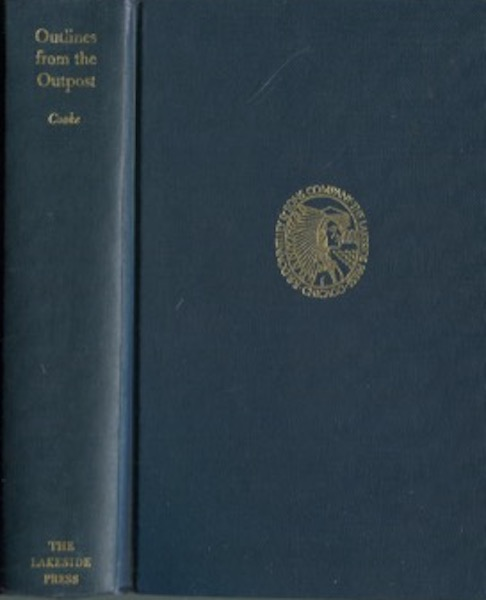 Outlines From The Outpost; Edited by Richard Harwell. John Esten Cooke.