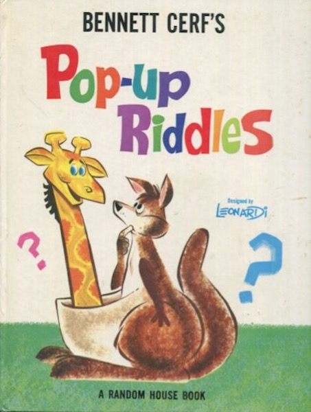 Bennett Cerf's Pop-Up Riddles. Bennett Cerf.