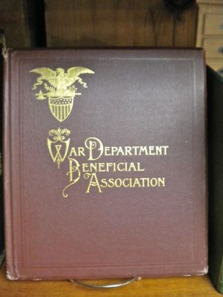 Official Manual and Constitution Book of the War Department Beneficial Association, Containing...