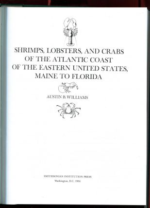Shrimps, Lobsters, And Crabs Of The Atlantic Coast Of The Eastern United States, Maine To...