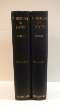 A History of Egypt. James Baike.