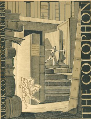 The Colophon; A Book Collector' Quarterly, Part Six, 1931. Elmer Adler, others