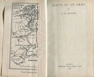 Birth Of An Army. A. B. Austin