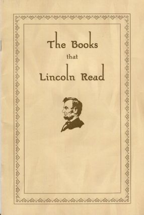 The Books That Lincoln Read