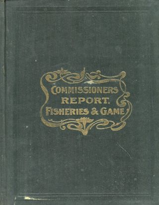 Biennial Report of the Commissioner of Fisheries and Game for Indiana. Z. T. Sweeney