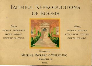 Faithful Reproductions Of Rooms