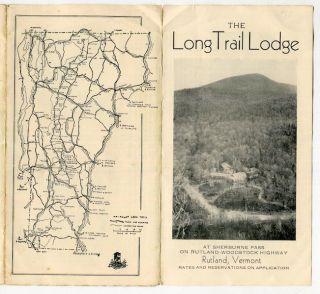 The Long Trail Lodge At Sherburne Pass On Rutland - Woodstock Highway; The Home of the Green...