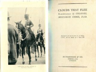 Clouds That Flee; Reminiscences By Colonel Montague Cooke. Colonel Montague Cooke