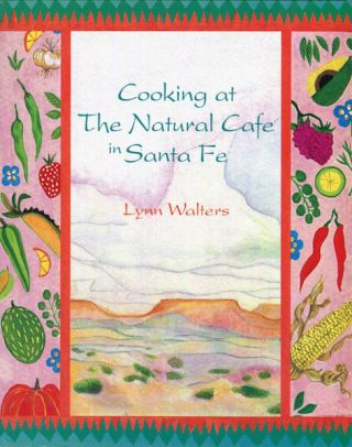 Cooking At The Natural Cafe In Santa Fe. Lynn Walters