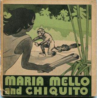 Maria Mello and Chiquito In a jungle in Brazil beside the biggest river in the world, Maria Mello...