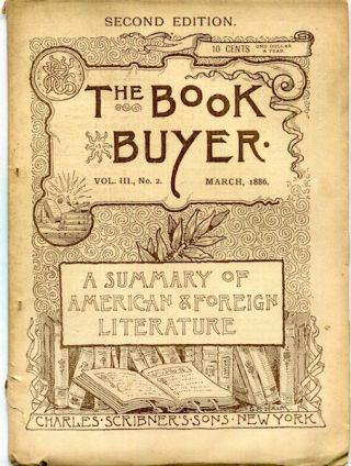 The Book Buyer; A Summary Of American & Foreign Literature. Robert Louis Stevenson