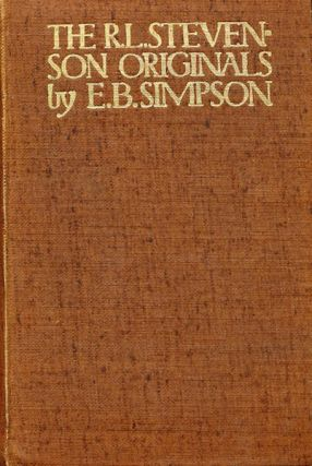 The Robert Louis Stevenson Originals. E. Blantyre Simpson