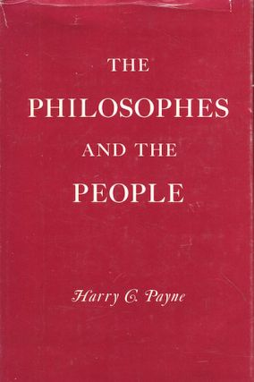 The Philosophies And The People. Harry C. Payne