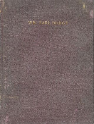 William Earl Dodge 1858 - 1884. Original Photographic Frontispiece