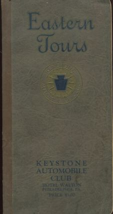 Eastern Tours, A Comprehensive Touring Guide Covering The Main Traveled Routes In Maine, New Hampshire, Vermont, Massachusetts, Rhode Island, Connecticut, New York, New Jersey, Pennsylvania, Delaware, Maryland And Virginia, With Extension Routes To Canada, Chicago And Florida Resorts. Petroliana, Keystone Automobile Club.