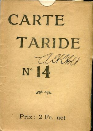 Nouvelle Carte De France. Carte Taride, No. 14.