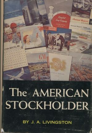 The American Stockholder. J. A. Livingston