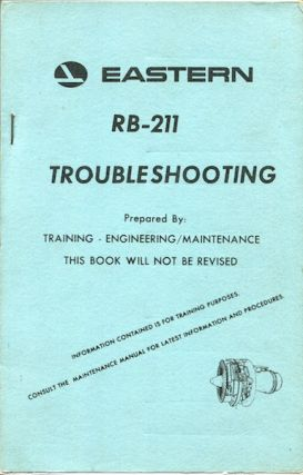 Eastern RB-211 Troubleshooting. Eastern Airlines